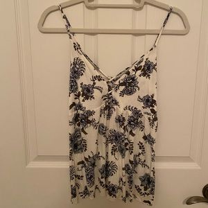 American Eagle soft & sexy floral tank
